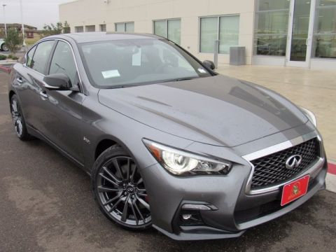 2018 infiniti red sport 400.  Sport New 2018 INFINITI Q50 Red Sport 400 With Navigation Throughout Infiniti Red Sport E